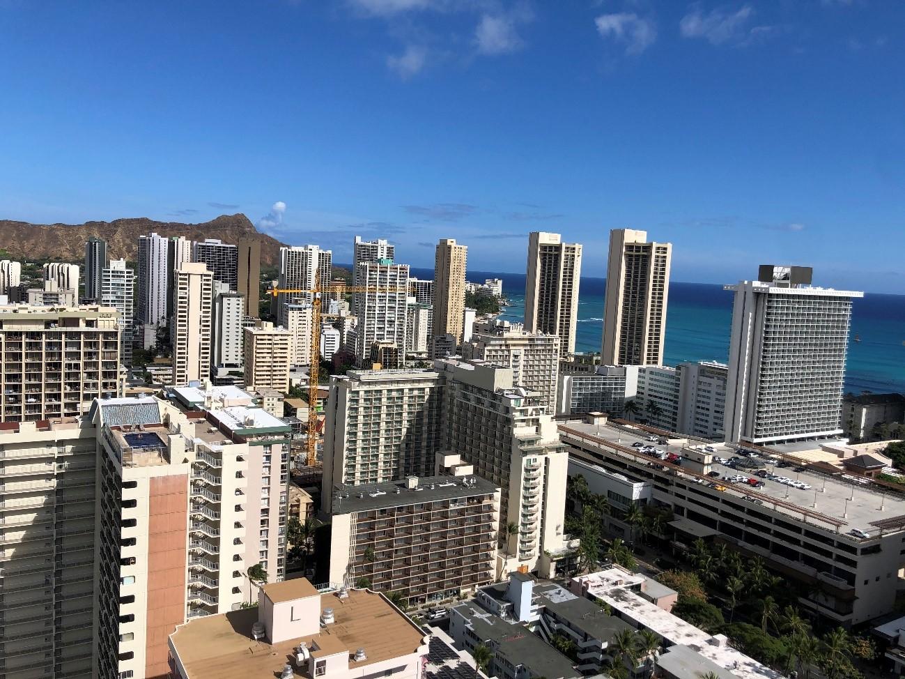 ハワイの部屋探し;