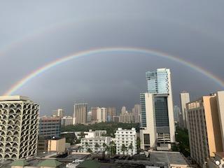 ハワイで見られる虹について;